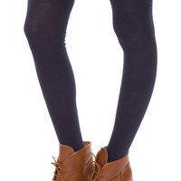Hope Over The Knee Socks in Navy