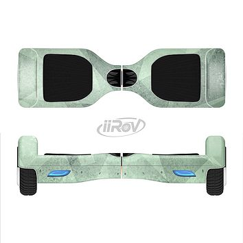 The Light Green with Translucent Shapes Full-Body Skin Set for the Smart Drifting SuperCharged iiRov HoverBoard