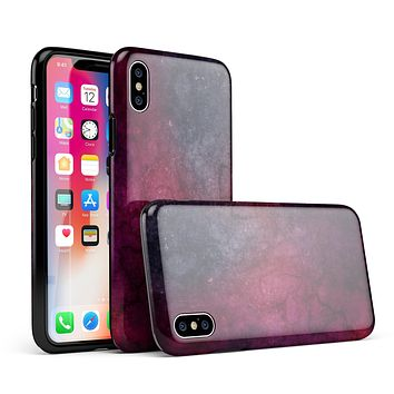 Abstract Fire & Ice V18 - iPhone X Swappable Hybrid Case
