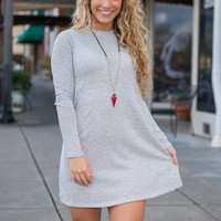 Chic In Chicago Dress, Gray