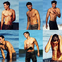 zac efron shirtless wallpaper - Google Search