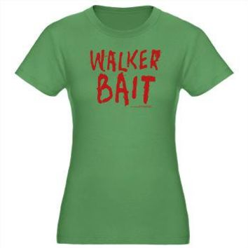 Walker Bait Women's Fitted T-Shirt> Walker Bait> The Walking Dead T-Shirts from Gold Label