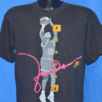 90s Nike Michael Jordan USA Jump Shot Chicago Bulls t-shirt Large