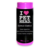 Pet Head™ Come Clean! Body & Paw Grooming Wipes - 50-Count
