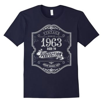 54 year old birthday gift for him her- Vintage 1963 T-shirt