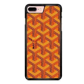 Goyard Orange Pattern iPhone 7 Plus Case