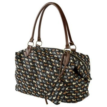 Mossimo Supply Co. Cat Print Tote Handbag - Black