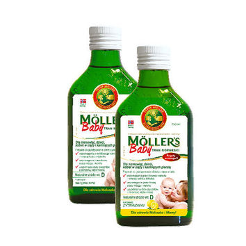 TRAN MOLLERS Baby Norwegian 250ml Infants from 6 months of age