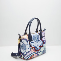 Africa Tribal small tote bag - Navy | Bags | Ted Baker UK