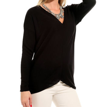 Black spring summer tunic Women's tunic women tunic tops womens clothing womens fashion knit sweater women's sweater women's jumpers