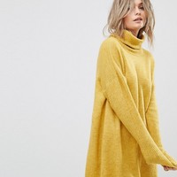 Vero Moda Roll Neck Sweater Dress at asos.com