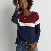 AEO Easy Striped Sweater, Multi