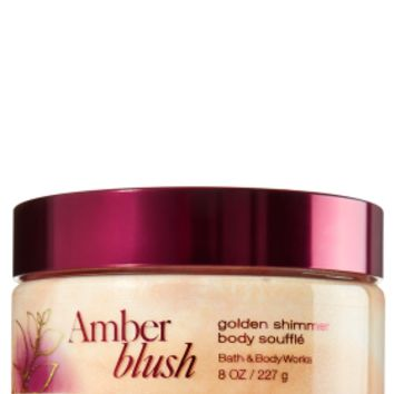 Amber Blush Golden Shimmer Body Soufflé   - Signature Collection - Bath & Body Works