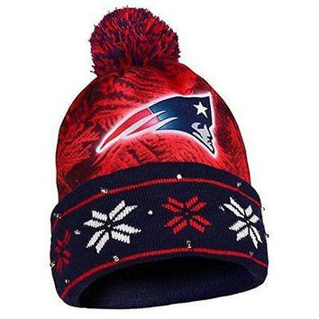 NFL New England Patriots Light Up Knit Hat