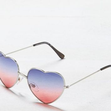AEO Women's Heart-shaped Sunglasses (Multi)