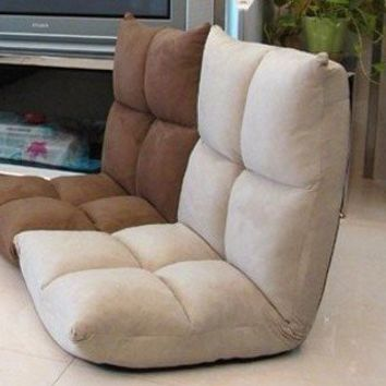 Futon Chair Recliners Floor Folding Chairs Living Room Gaming Chair  105x52x15cm