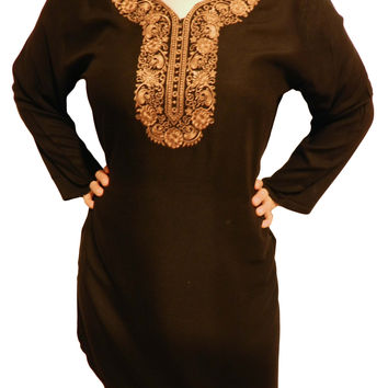 Kashaf Women's Top Tunic with Embroidery