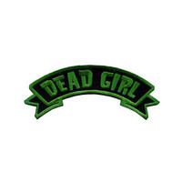 Kreepsville 666 Arch patch dead girl