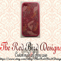 Glitter Sparkly Pink Camo iPhone 4/4S OR 5 Cell Phone Case