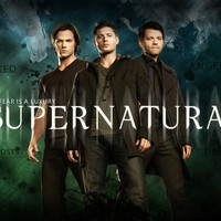 "Supernatural - US TV Show Season Art Fabric Poster 40"" x 24"" 21"" x 13"" Decor--024"