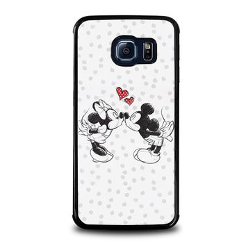 MICKEY AND MINIE MOUSE KISSING Disney Samsung Galaxy S6 Edge Case Cover