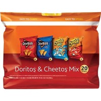 Doritos & Cheetos Singles Tortilla Chips and Snacks Mix, 20 ct. - Walmart.com