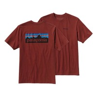 Patagonia Men's P-6 Logo Cotton T-Shirt | Rusted Iron