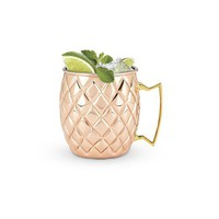 Copper Pineapple Mug by Twine