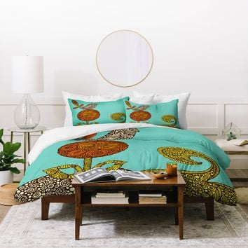 Valentina Ramos Bird In The Flower Duvet Cover