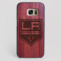 Los Angeles Kings Galaxy S7 Edge Case - All Wood Everything