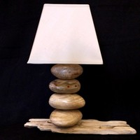 BoGaLeCo.com / Ligths / Lamps / reclaimed wood / Wooden roller lamp