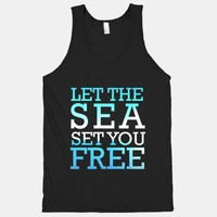 Let The Sea Set You Free (Tank) | HUMAN