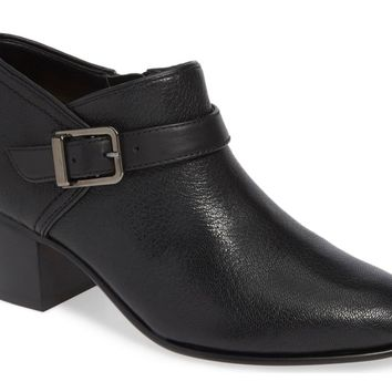 Clarks Maypearl Milla Black Leather Ankle Boots