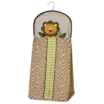 Tiddliwinks Safari Friends Printed Baby Boy Diaper Stacker