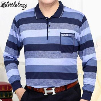 VONE05WA 2018 brand long sleeve polo shirt men striped slim fit mens camisa polos shirts masculino blusas poloshirt jersey clothing 1867