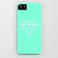 Tiffany Mint Diamond Design iPhone Case by Rex Lambo | Society6