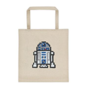 R2-D2 Perler Art Tote Bag by Aubrey Silva