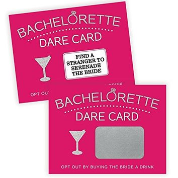 Bachelorette Dare Card Party Game Girls Night Out Includes 20 Scratch Off Cards FREE US SHIPPING