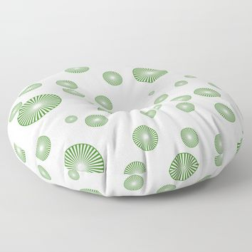 forever Floor Pillow by netzauge