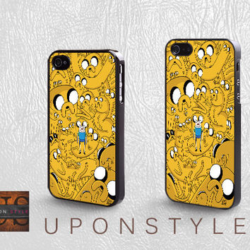 Phone Cases, iPhone 5 Case, iPhone 5s Case, iPhone 4 Case, iPhone 4s case, Adventure time, iPhone Case, Case for iphone, Case No-586