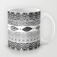 Tribal & Nature Play Mug by Pom Graphic Design