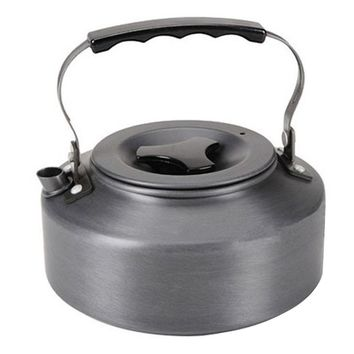 1.1L Kettle Picnic Camping Cookware Teapot Water Coffee Pot Aluminum Outdoor free shippingBest Price