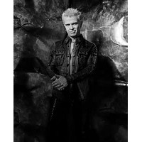 Billy Idol Poster Standup 4inx6in black and white