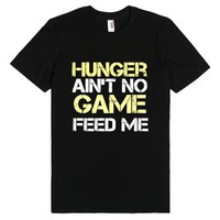 Hunger Games Humor Tshirt-Unisex Black T-Shirt