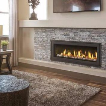 "Napoleon Vector LV50 Direct Vent 50"" Electronic Ignition Fireplace with Surround"