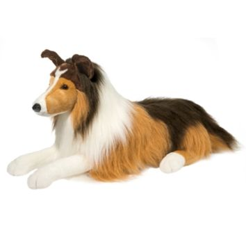 Lassie the Jumbo Collie Stuffed Animal by Douglas