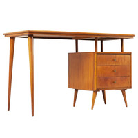 Highly rare 'Bossa nova' desk, Brazil 1950's, (part of complete suite)