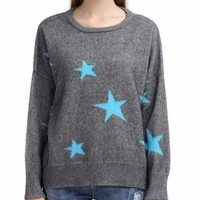 Star Light Cashmere Pullover Sweater