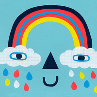 Rainbow Face Mcgee by Colin Walsh
