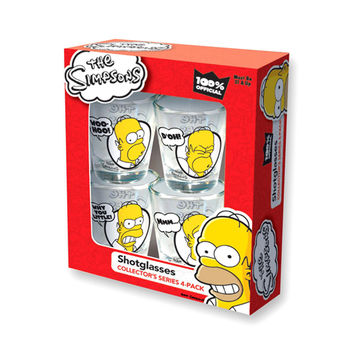 Simpsons Shot Glass Set
